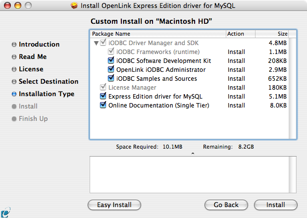 7 1  OpenLink ODBC Driver for MySQL (Express Edition) for