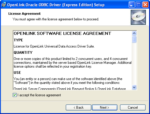 82 Openlink Odbc Driver For Oracle Express Editon For Windows