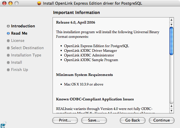 9 1  OpenLink ODBC Driver for PostgreSQL (Express Edition