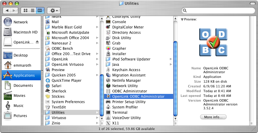 10 1  OpenLink ODBC Driver for SQL Server (Express Editon