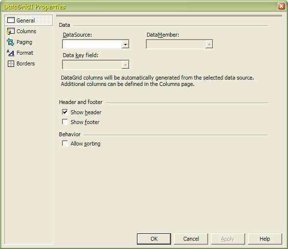 Databound Examples using MS Visual Studio