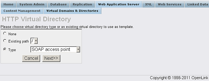 Virtual Directories Mappings
