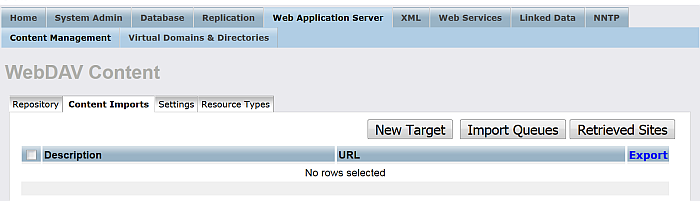 Setting up a Content Crawler Job to Retrieve Sitemaps