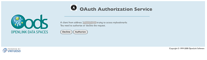 OAuth Authentication