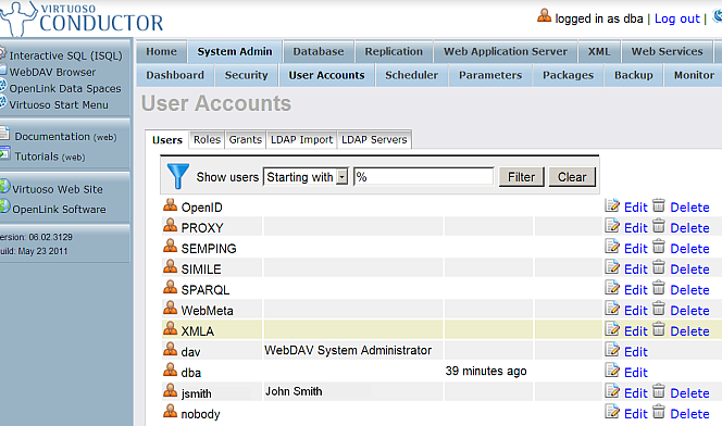 LDAP Servers Configure and Import