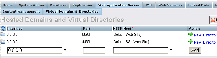 Http Hosts and Directories.