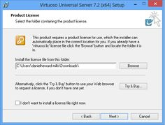 Installing the Virtuoso Universal Server on Windows -- License Agreement Accept